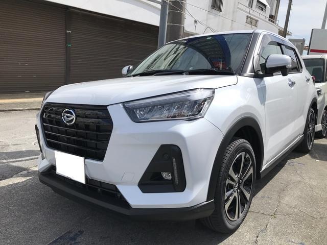 沖縄の中古車 ダイハツ ロッキー 車両価格 ASK リ済込 2021(令和3)年 17km シャイニングホワイトパール