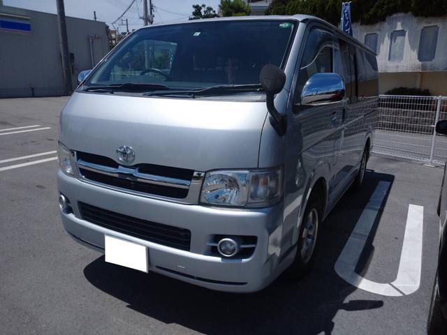 沖縄の中古車 トヨタ ハイエースバン 車両価格 149万円 リ済込 2006(平成18)年 12.7万km シルバーM