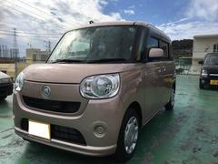沖縄の中古車 ダイハツ ムーヴキャンバス 車両価格 129.6万円 リ済込 新車  ピンク