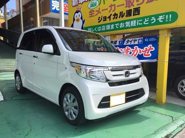 沖縄の中古車 ホンダ N-WGN 車両価格 122.2万円 リ済込 新車  パールホワイト