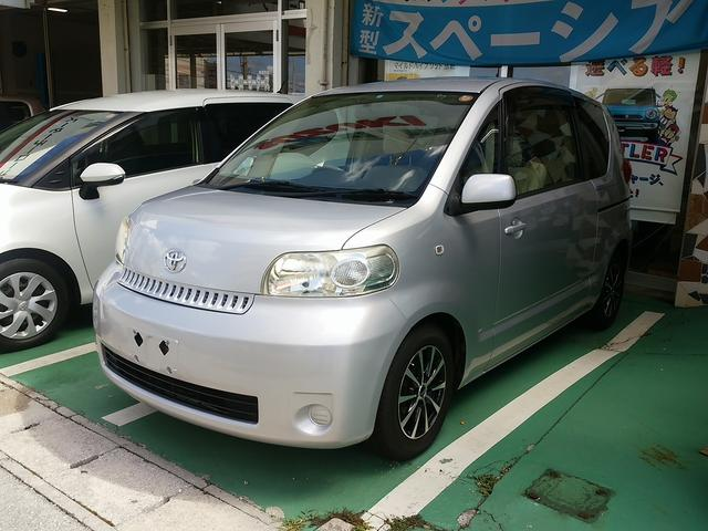 沖縄の中古車 トヨタ ポルテ 車両価格 40万円 リ済込 平成18年 12.0万km シルバー