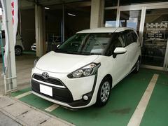 沖縄の中古車 トヨタ シエンタ 車両価格 178万円 リ済込 平成27年 1.1万K ホワイト