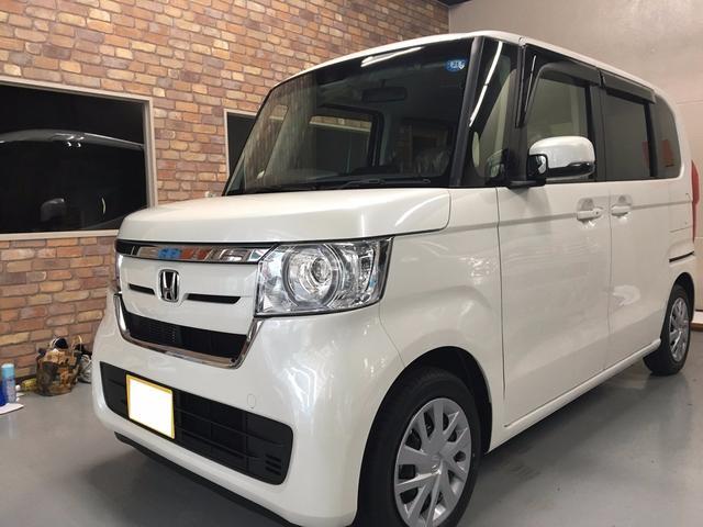 沖縄の中古車 ホンダ N-BOX 車両価格 149.9万円 リ済込 新車  パールホワイト