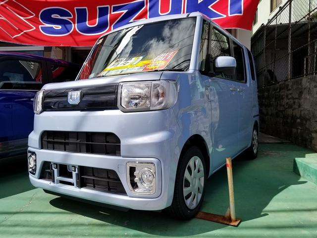 沖縄の中古車 ダイハツ ウェイク 車両価格 141.4万円 リ済込 新車  ミストブルーマイカメタリック