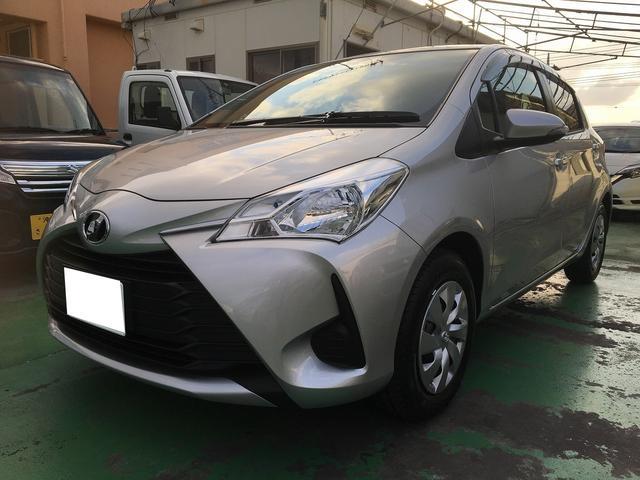 沖縄の中古車 トヨタ ヴィッツ 車両価格 148.2万円 リ済込 新車  シルバーM