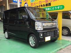 沖縄の中古車 スズキ エブリイワゴン 車両価格 156.8万円 リ済込 新車  ブラック