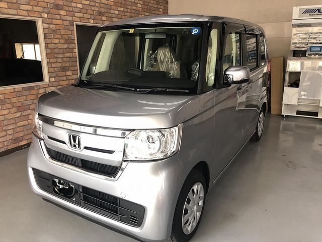 沖縄の中古車 ホンダ N BOX 車両価格 132万円 リ済込 新車  シルバー
