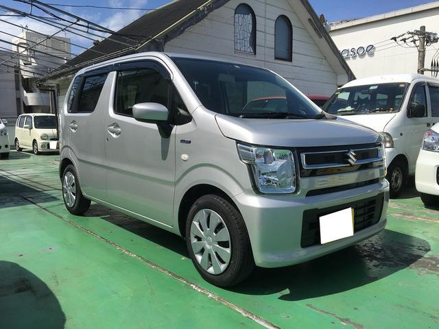 沖縄の中古車 スズキ ワゴンR 車両価格 118万円 リ済込 新車  シルバー