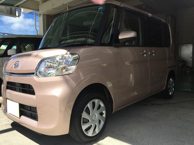 沖縄の中古車 ダイハツ タント 車両価格 154.4万円 リ済込 新車  ピンク