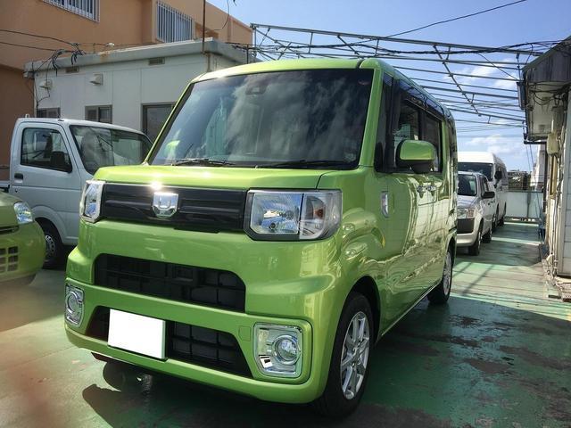 沖縄の中古車 ダイハツ ウェイク 車両価格 144万円 リ済込 新車  Lグリーン