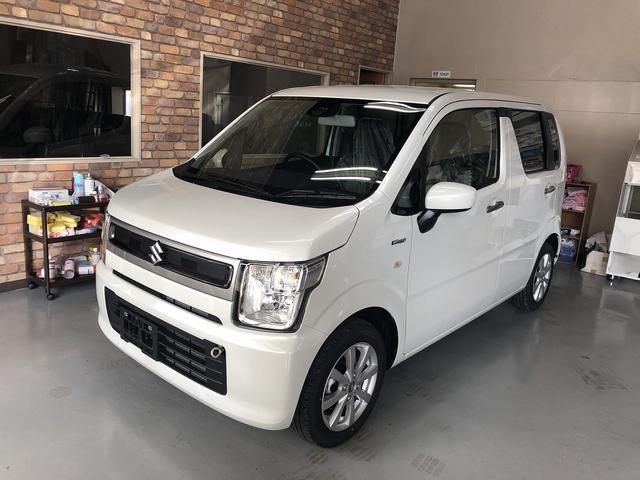 沖縄の中古車 スズキ ワゴンR 車両価格 131.2万円 リ済込 新車  ホワイト
