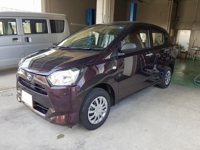 沖縄の中古車 ダイハツ ミライース 車両価格 87.5万円 リ済込 新車  ブラウン