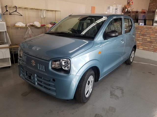 沖縄の中古車 スズキ アルト 車両価格 90万円 リ済込 新車  ライトブルー