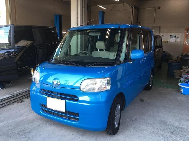 沖縄の中古車 ダイハツ タント 車両価格 35万円 リ済込 2009(平成21)年 10.9万km ブルー