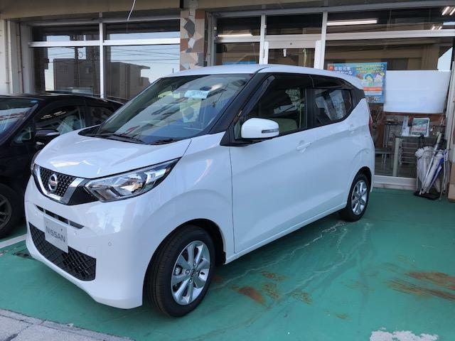 沖縄の中古車 日産 デイズ 車両価格 ASK リ済込 2019(令和1)年 0.7万km ホワイト