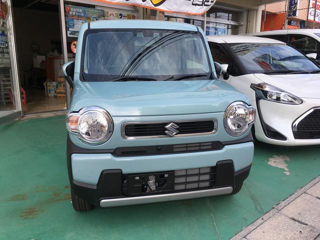 沖縄の中古車 スズキ ハスラー 車両価格 ASK リ済込 2020(令和2)年 100km ツートン