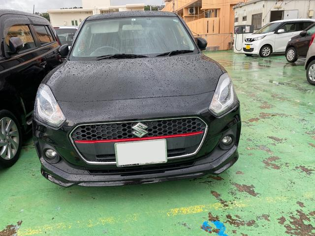沖縄の中古車 スズキ スイフト 車両価格 120万円 リ済込 2017(平成29)年 2.6万km ブラック