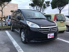 沖縄の中古車 ホンダ ステップワゴン 車両価格 35万円 リ済込 平成21年 13.1万K ブラック