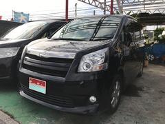 沖縄の中古車 トヨタ ノア 車両価格 59万円 リ済込 平成21年 12.4万K ブラック