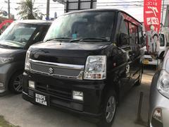 沖縄の中古車 スズキ エブリイワゴン 車両価格 45万円 リ済込 平成21年 13.8万K ブラック