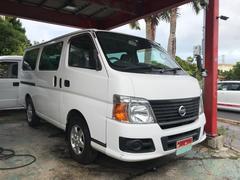 沖縄の中古車 日産 キャラバン 車両価格 79万円 リ済込 平成23年 12.6万K ホワイト