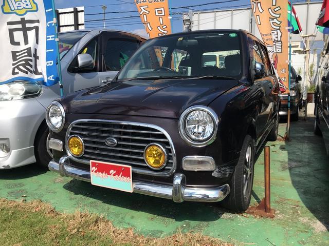 沖縄の中古車 ダイハツ ミラジーノ 車両価格 29万円 リ済込 平成13年 9.0万km ブラウン