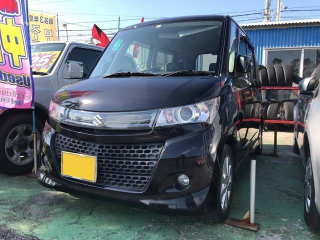 沖縄の中古車 スズキ パレットSW 車両価格 46万円 リ済込 平成23年 13.4万km ブラック