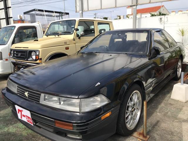 沖縄の中古車 トヨタ ソアラ 車両価格 89万円 リ済込 平成1年 26.0万km ブラックII
