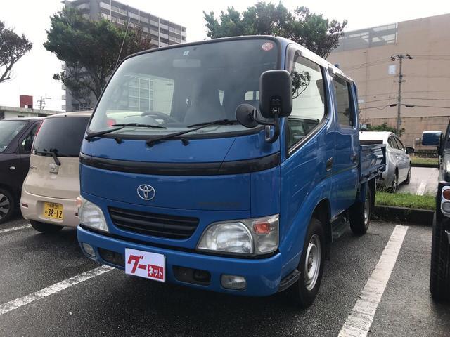 沖縄の中古車 トヨタ トヨエース 車両価格 49万円 リ済込 平成17年 17.5万km ブルー