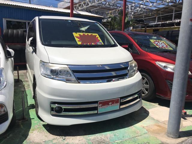 沖縄の中古車 日産 セレナ 車両価格 39万円 リ済込 2009(平成21)年 14.1万km パール
