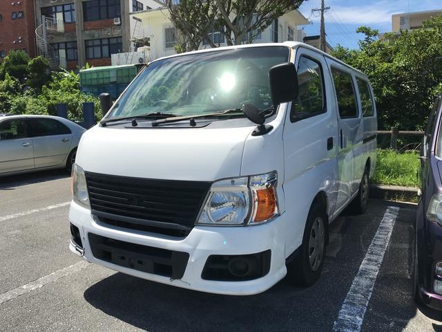 沖縄の中古車 日産 キャラバン 車両価格 69万円 リ済込 2010(平成22)年 19.2万km ホワイト
