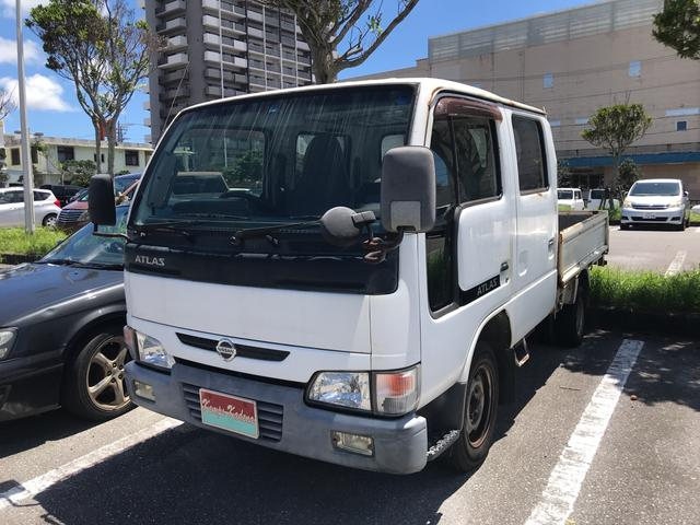沖縄の中古車 日産 アトラストラック 車両価格 55万円 リ済込 2004(平成16)年 18.5万km ホワイト