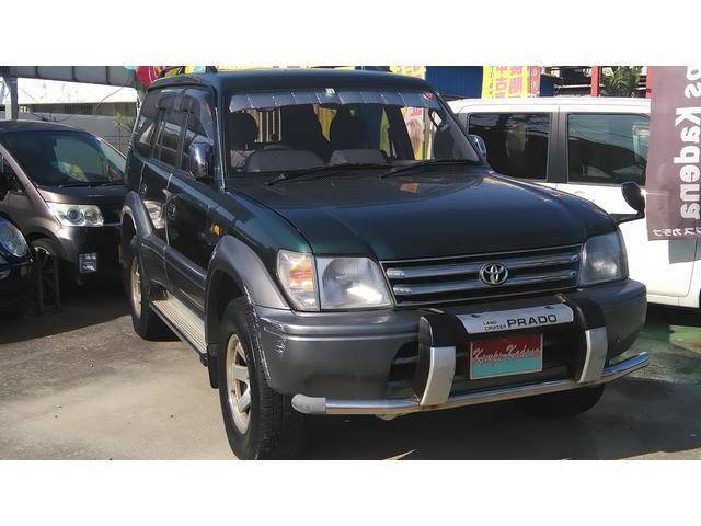 トヨタ ランドクルーザープラド 電格ミラー キーレス Wエアバック CD A/C P/S