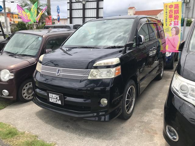 沖縄県の中古車ならヴォクシー Z 煌II 両側パワースライドドア キーレス ナビ