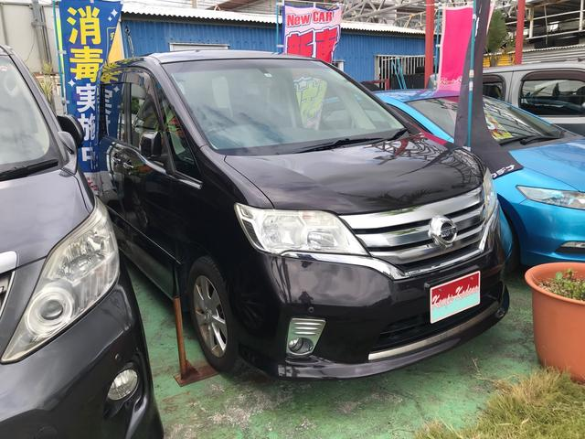 沖縄の中古車 日産 セレナ 車両価格 39万円 リ済込 2011(平成23)年 15.1万km パープル