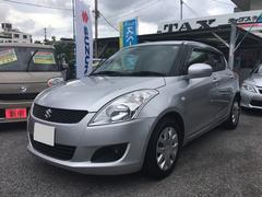 沖縄の中古車 スズキ スイフト 車両価格 49万円 リ済込 平成24年 9.2万K シルバーM