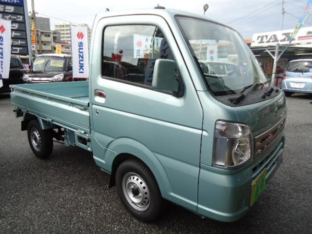 沖縄の中古車 スズキ キャリイトラック 車両価格 89万円 リ済込 新車  グリーンM
