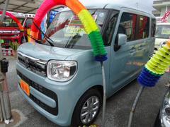 沖縄の中古車 スズキ スペーシア 車両価格 148万円 リ済込 新車  ブルーM