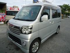 沖縄の中古車 ダイハツ アトレーワゴン 車両価格 55万円 リ済込 平成18年 8.8万K グレー