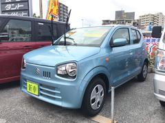沖縄の中古車 スズキ アルト 車両価格 100万円 リ済込 新車  ブルーM