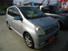 沖縄の中古車 ダイハツ ミラアヴィ 車両価格 15万円 リ済込 平成16年 12.4万K グレー