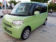 沖縄の中古車 ダイハツ タント 車両価格 69万円 リ済込 平成23年 7.4万K Lグリーン