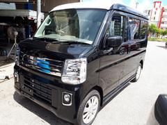 沖縄の中古車 スズキ エブリイワゴン 車両価格 157万円 リ済込 新車  ブラックM
