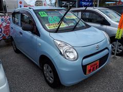 沖縄の中古車 スズキ アルト 車両価格 45万円 リ済込 平成24年 3.8万K ブルー