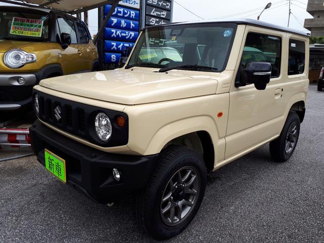 沖縄の中古車 スズキ ジムニー 車両価格 188万円 リ済込 新車  ツートン