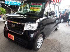沖縄の中古車 ホンダ N BOX 車両価格 149万円 リ済込 新車  ブラック