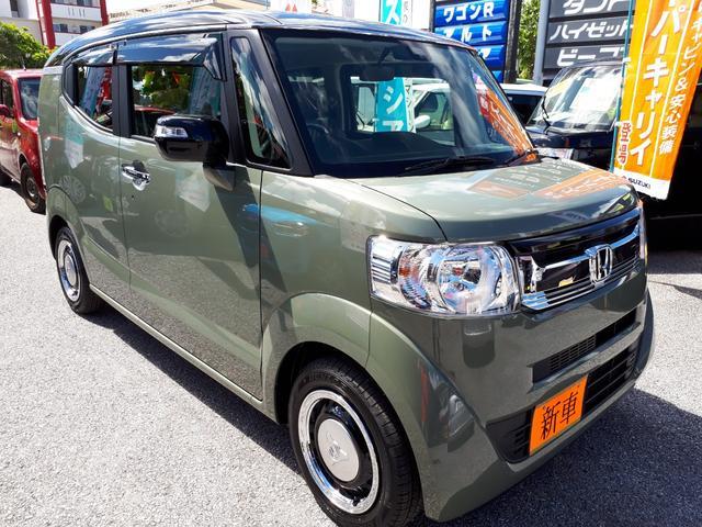 沖縄県の中古車ならN-BOXスラッシュ G・Lインテリアカラーパッケージ