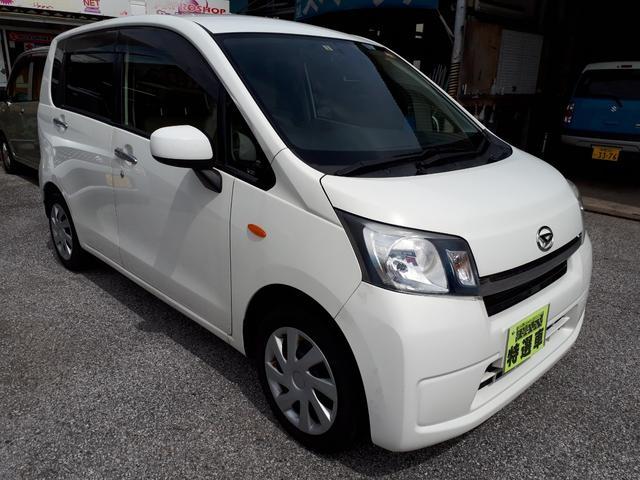 沖縄の中古車 ダイハツ ムーヴ 車両価格 39万円 リ済込 平成25年 11.9万km ホワイト