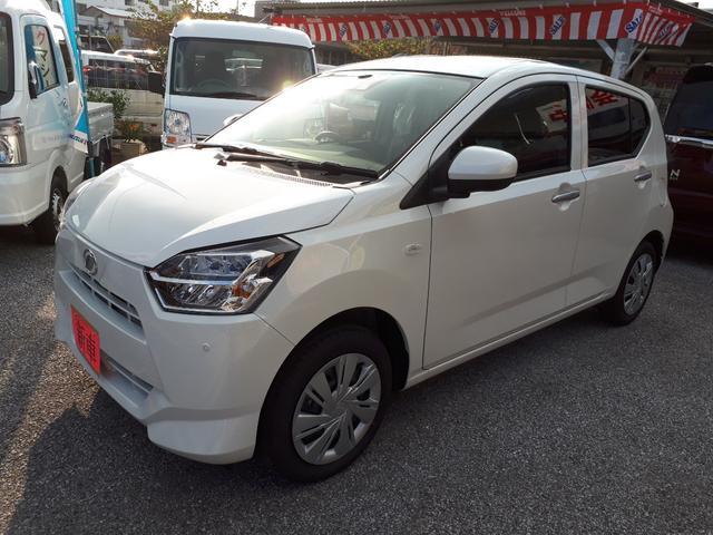 沖縄の中古車 ダイハツ ミライース 車両価格 120万円 リ済込 新車  パールホワイト