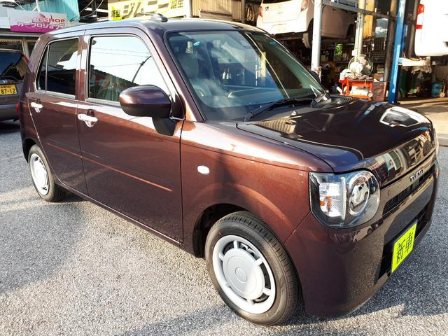 沖縄の中古車 ダイハツ ミラトコット 車両価格 122万円 リ済込 新車  ブラウン